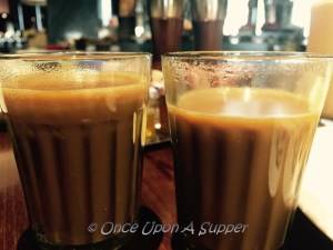 Lebu Cha -- Calcutta's own spiced and salted Lemon Tea