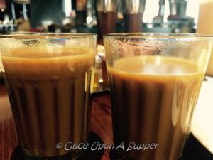 Lebu Cha -- Calcutta's own spiced and salted Lemon Tea