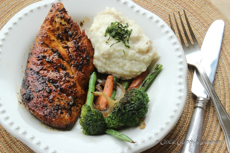 Skillet-Fried Chicken Breasts with Cajun and Lemon Pepper