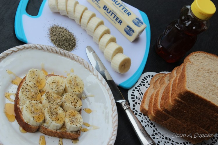 Grilled Banana Honey Sandwich — more power to you!