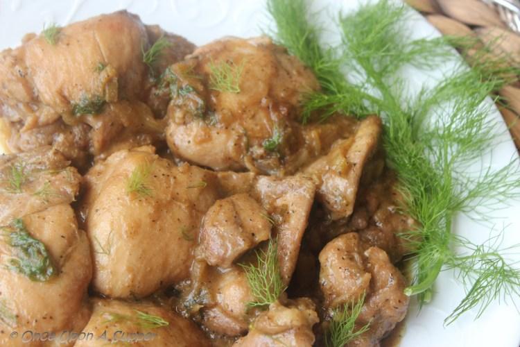 Fennel (saunf) Chicken — a Bake or Braise recipe