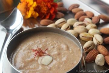 Khejur er Kheer (Khajur ki Kheer or Indian Dates pudding)