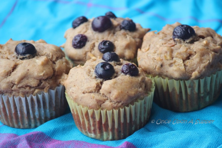 Eggless whole wheat mixed fruit muffins — both a trick and a treat!
