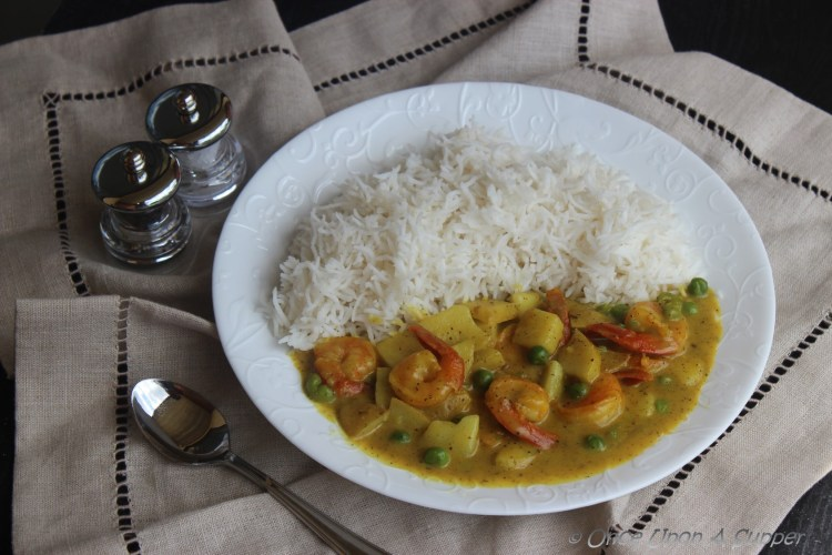 Fisherman's Shrimp Curry — returning to fine simplicity of life!