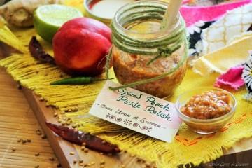 Nectarine and Mango Pickle Relish