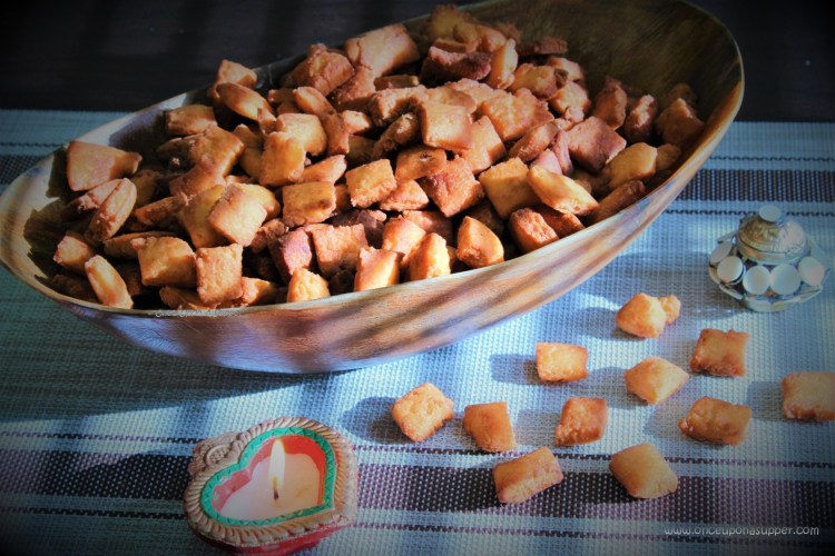 Sweet Shakarpara or Shankarpali — the timeless Indian festival snack