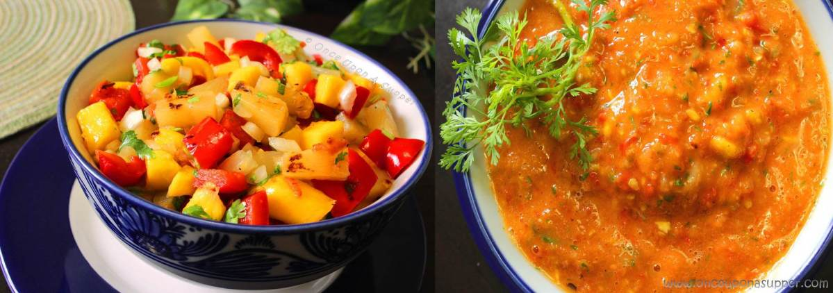 Roasted Pineapple Mango Habanero Salsa — great salad or greater sauce?