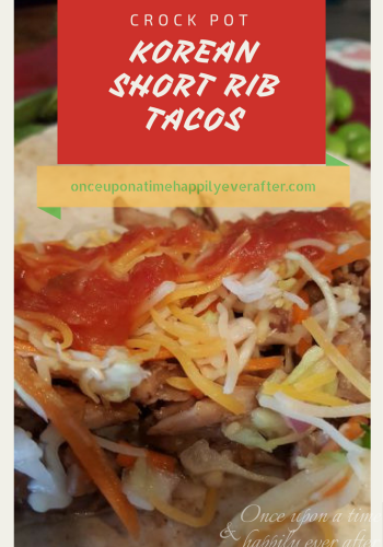 Tasty Tuesday:  Crock Pot Korean Short Rib Tacos