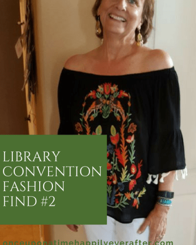 My Fashion Haus:  Library Convention Fashion Find, #2