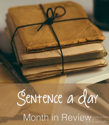 Sentence a Day, 4.2017
