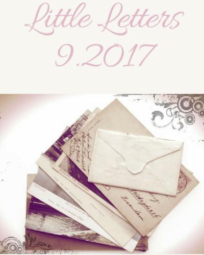 Little Letters, 9.2017