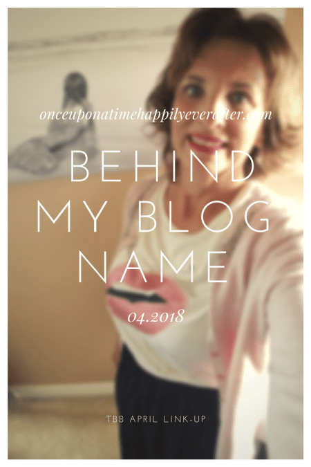 Behind My Blog Name