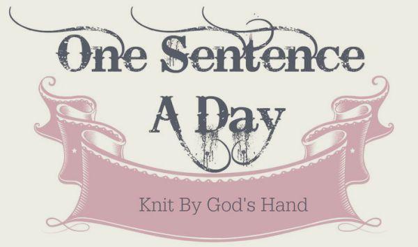 Sentence a Day, 07.2018