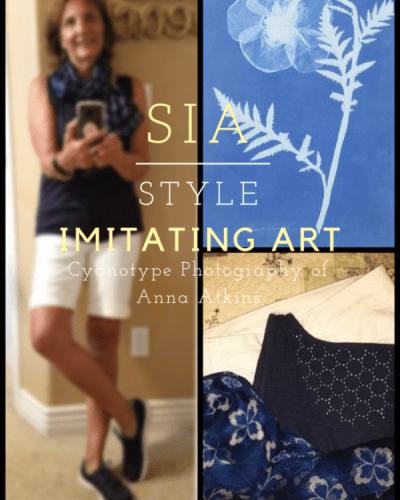My Fashion Haus:  Style Imitating Art, Cyanotype Photography of Anna Atkins