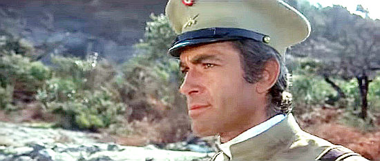 "Chris Avram as Maj. Gomez, one of the men Django's seeks in ""A Man Called Django"" (1972)"