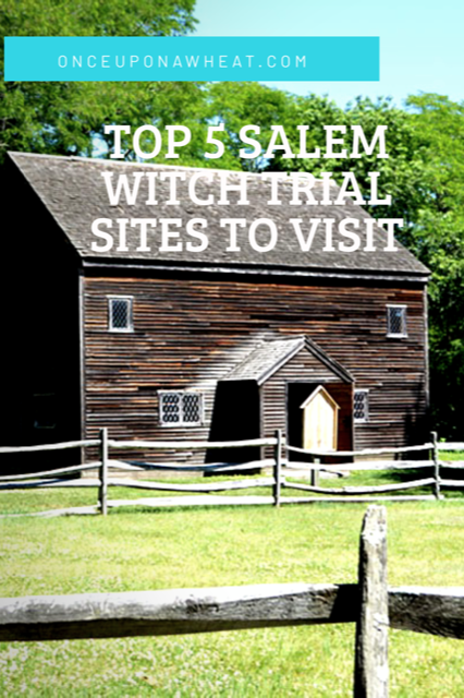 Salem Witch Trials sites Pin