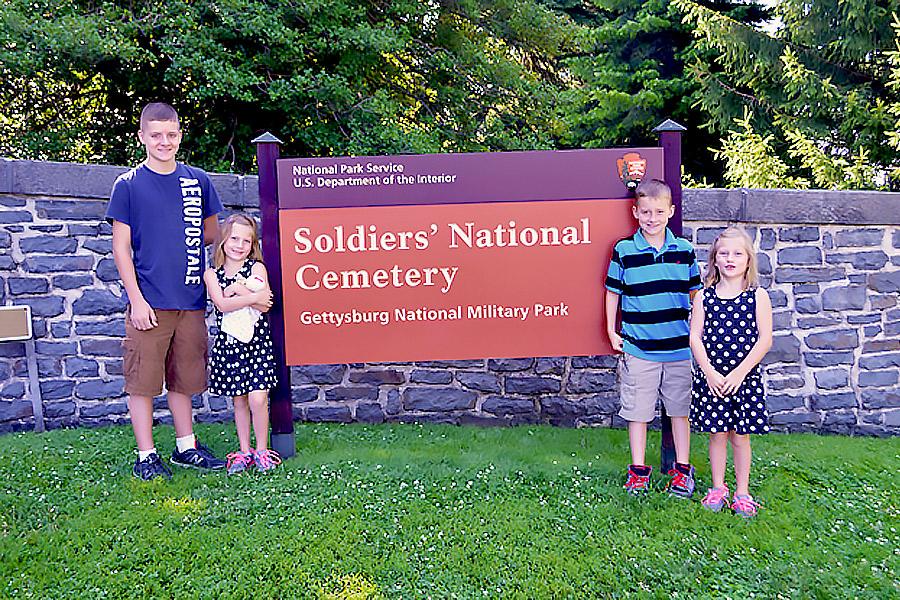 Gettysburg Soldiers National cemetery