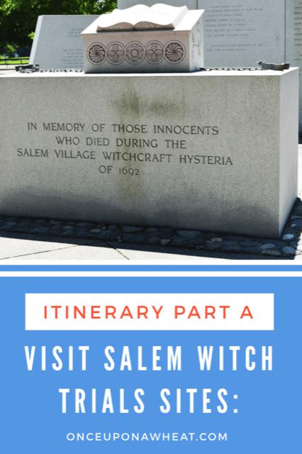 Visit Salem Witch Trials Sites- Part A