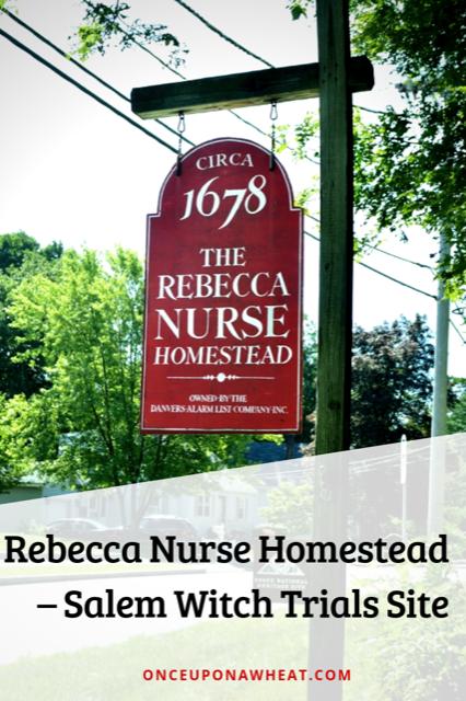 Rebecca Nurse Homestead Pin