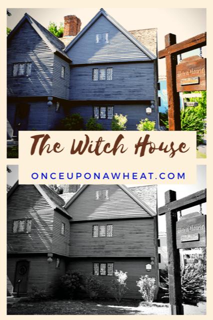 The Witch House Salem Mass Pin