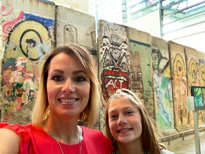 Berlin Wall & Wheat girls