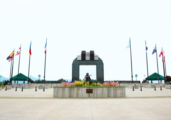 D Day Memorial front