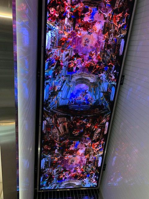MOTB Grand Hall LED ceiling