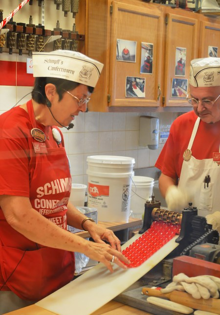 candy maker Warren Schimpff red hots candy