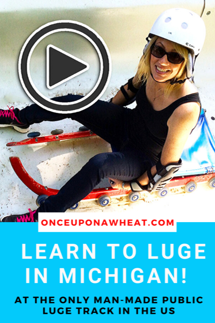 Learn to Luge in Michigan- Video!