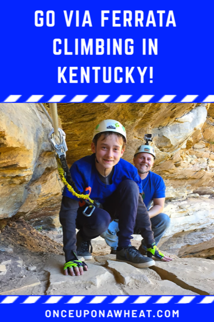 Go Via Ferrata Climbing in Kentucky!