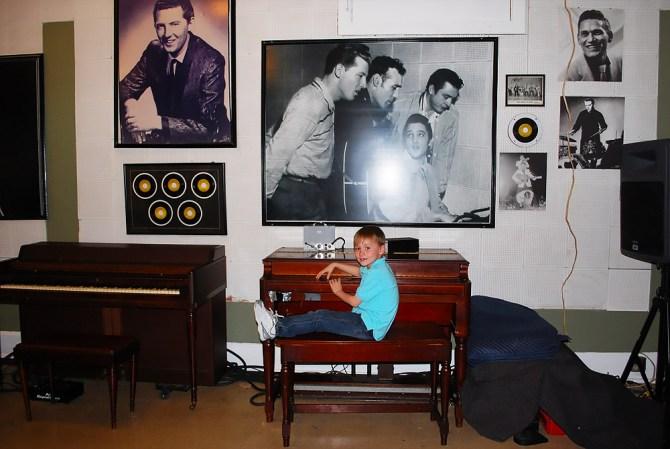 Million Dollar Quartet piano