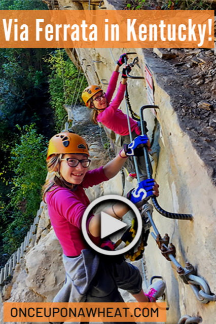 Via Ferrata in Red River Gorge- Travel Video!