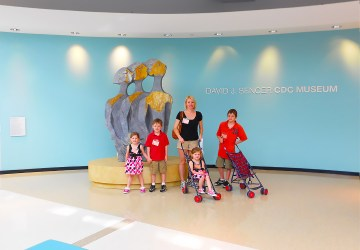 CDC Museum in Atlanta- Wheat family