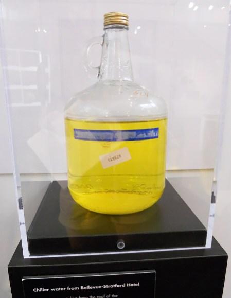 Bacteria contaminated water from Legionairre's Disease outbreak