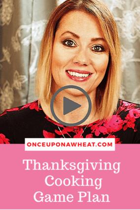 Thanksgiving Cooking Plan pin