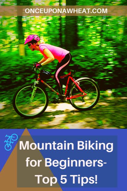 Mountain Biking video pin