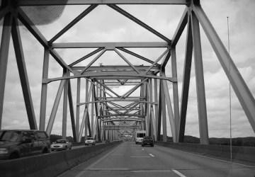 Silver Memorial Bridge Point Pleasant West Virginia Ohio