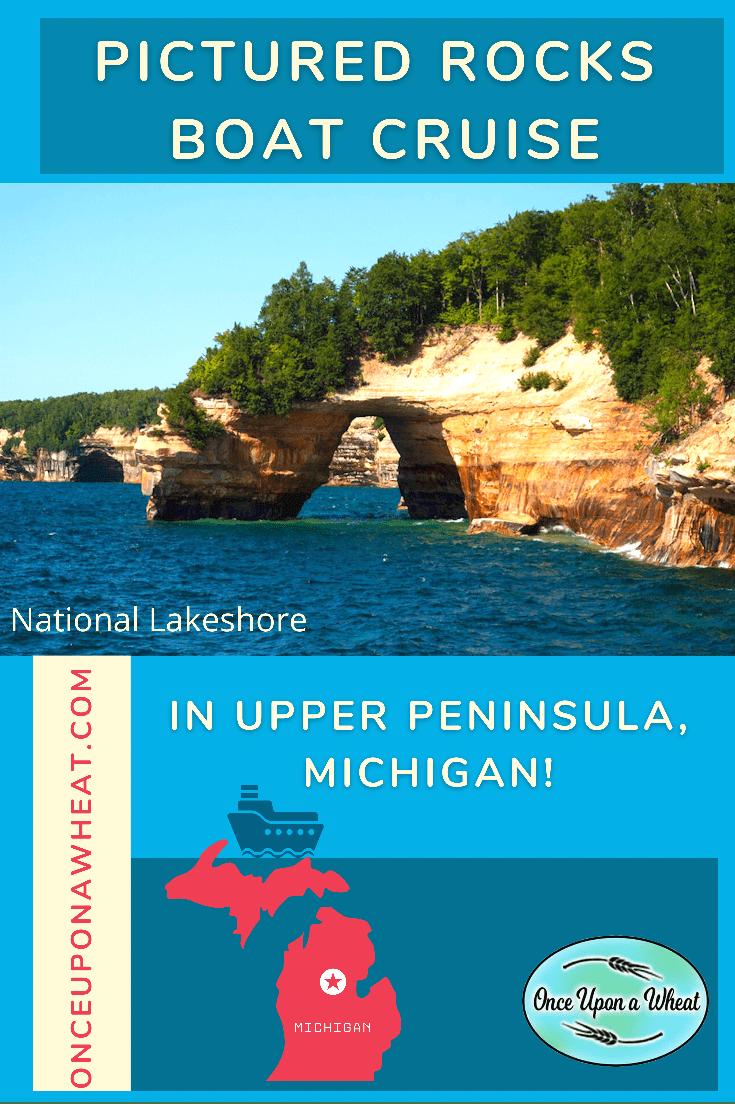 Pictured Rocks Boat Cruise in Upper Peninsula, Michigan!