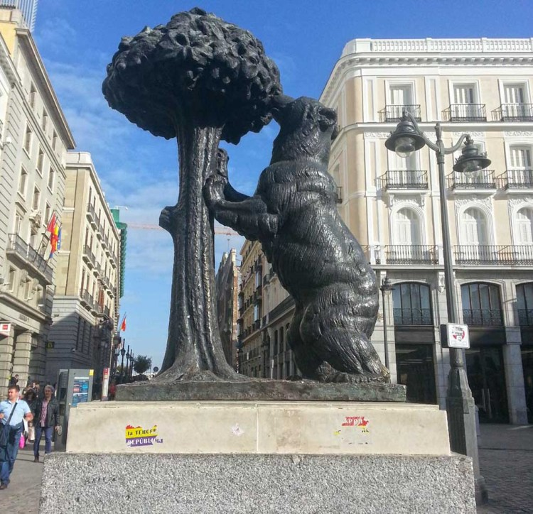 Madrid Bear Symbol