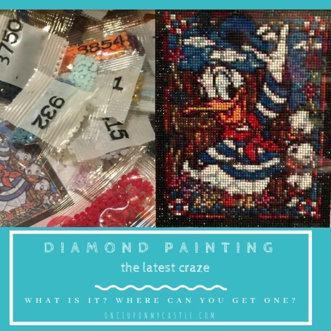 5D Diamond Painting- The latest Craft Craze! -