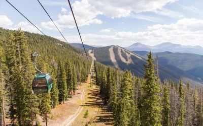 Wedding venues in Colorado accessed by gondola or chairlift