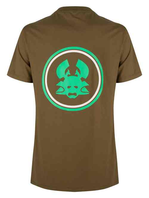 JUU SS TEE OLIVE GREEN ONCE WE WERE WARRIORS