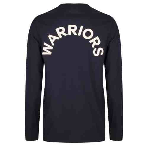 JUUNO LONGSLEEVE TEE SHIRT DARK INDIGO BLUE ONCE WE WERE WARRIORS
