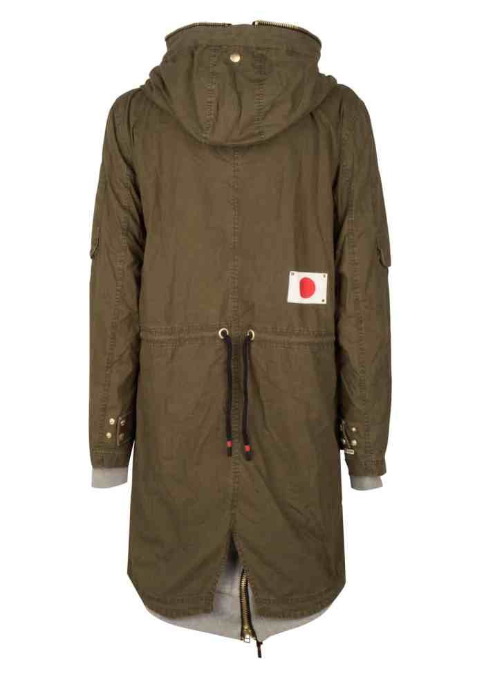 PARA2 PARKA JACKET TROOPER GREEN ONCE WE WERE WARRIORS