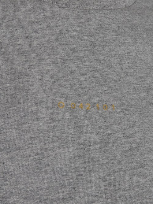 uchi ss tee grey melange t-shirt once we were warriors