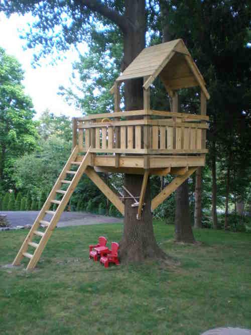 Construire une cabane dans les arbres-Guides et plans de