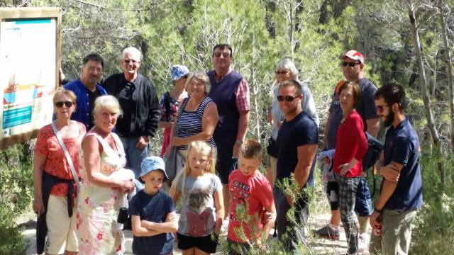 Family day out to Sierra Espuna