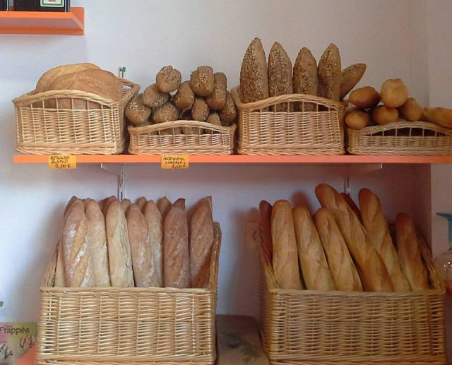 Freshly Baked Breads at Miky's Corner Patisserie