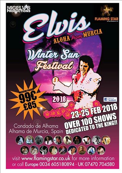 The Elvis Winter Sun Festival is Just Days Away!