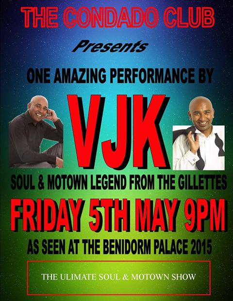 VJK Soul and Motown Show at the Condado Club